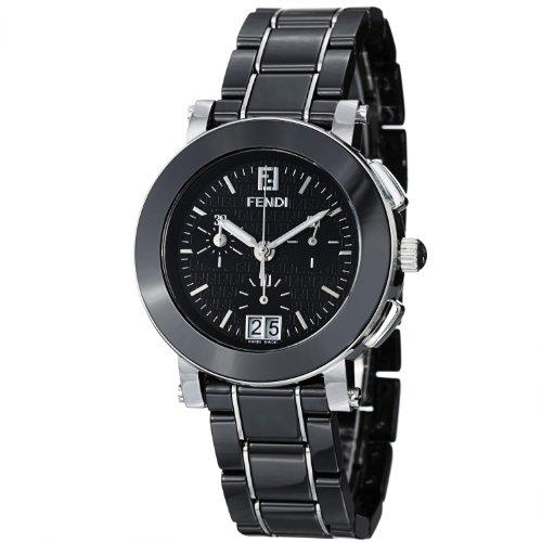 Fendi Women's F661110 Ceramic Stainless Steel and Ceramic Bracelet Watch