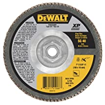 "DEWALT DWA8286H 40G T29 XP Ceramic Flap Disc, 7"" x 5/8"""