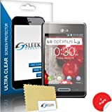 Sleek Gadgets® - 3 Pack Screen Protector Guard for LG Optimus L3 II E430