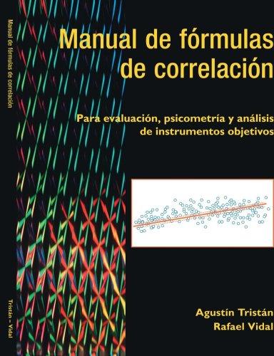 Manual De Fórmulas De Correlación (Spanish Edition)