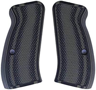 LOK Grips Checkered CZ 75 Compact Grips