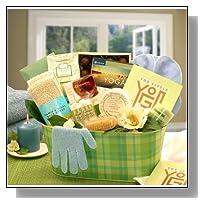Yoga & Green Tea Essentials Gift Set GiftBasketsAssociates Spa Gifts for Her