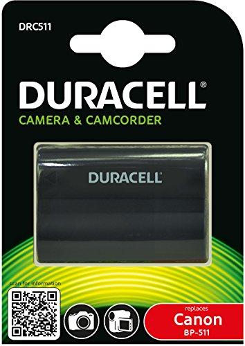 duracell-drc511-batteria-per-canon-bp-508-bp-511-bp-512-bp-514-bp-522-bp-535-74v-1400-mah-nero