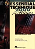 Essential  Technique 2000 Violin Book 3 Bk/CD