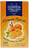 London Fruit And Herb Orange Spicer 20 Teabags (Pack of 12, Total 240 Teabags)