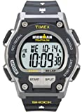 Timex Men's T5K195 Ironman Classic Shock 30-Lap Black Resin Strap Watch