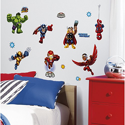 Roommates Rmk1751Scs Marvel Super Hero Squad Peel And Stick Wall Decals front-1026412