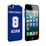 Premier League Personalised Customised 2016 Away Football Shirt Kit Any Name And Number Snap-on Hard Back Case Cover for Apple iPhone, Samsung, Sony Xperia, HTC, Microsoft, Motorola By iPhone R Us® (iPhone 5 5s, Leicester City)