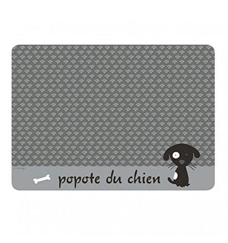 Tapis pour chien Popote - Gris - Derrière La Porte DLP - Gris