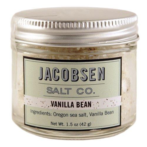 Jacobsen Salt Co. Vanilla Bean Flake Sea Salt, 1.5 Oz. (Vanilla Salt compare prices)