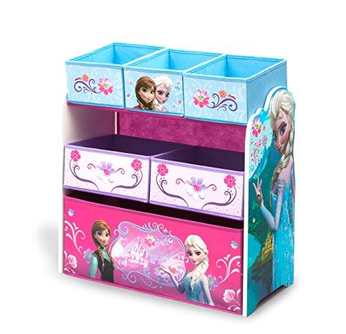 Delta Children Multi-Bin Toy Organizer, Disney Frozen