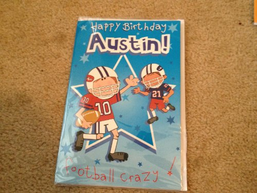 Happy Birthday Austin - Singing Birthday Card - 1