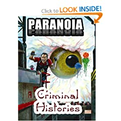 Paranoia: Criminal Histories by Bill O'Dea