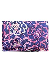 Gorgeous Vera Bradley All Wrapped Up Jewelry Roll in Katalina Pink
