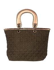Ananaya Black Tote Bag For Women - B00QK6KCRO
