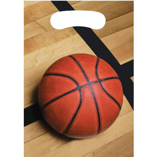 Basketball Fanatic Loot Bags (8ct) - 1