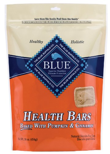 Blue Buffalo Health Bars for Dogs, Pumpkin and Cin