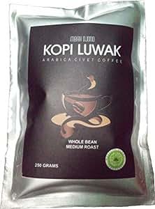Amazon.com : 250 gr Premium Kopi Luwak Mbah Djono Arabica