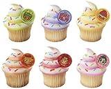 12 ~ Wreck It Ralph & Racers Rings ~ Designer Cake/Cupcake Topper