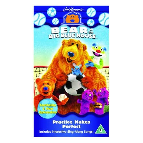 Bear In The Big Blue House Vhs For Pinterest