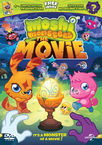 Moshi Monsters - Limited Edition with Trading Card and Moshling Code [DVD + UV Copy] [2013]