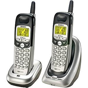 uniden 3 handset cordless phone with tam