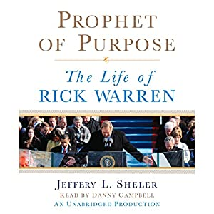 Prophet of Purpose Hörbuch