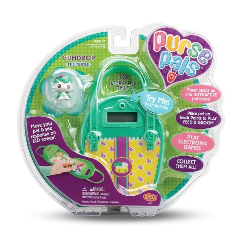 Purse Pal : Wild Planet Purse Pals Gumdrop the Turtle - Buy Wild Planet Purse Pals ...