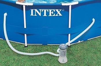 intex metal frame pool set 15 feet x 42 inch
