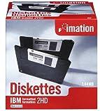 イメーション 3.5インチFD DOS/Vフォーマット25枚入 紙箱×1 US仕様品 MF2HD-WIN-25KS