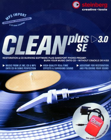 Clean Plus 3.0 Special Edition with Phono PreAmp & FREE Cubasis Notation