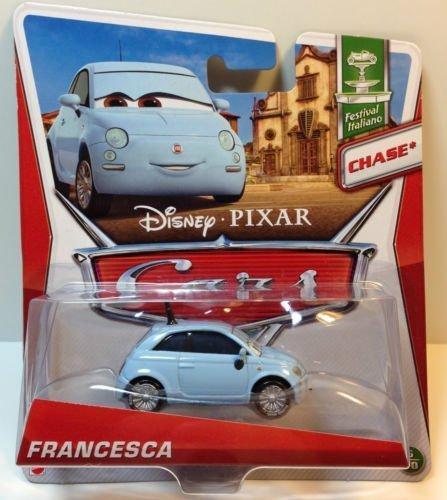 Disney / Pixar CARS MAINLINE 1:55 Die Cast Car Francesca [Festival Italiano 6/10 Chase]