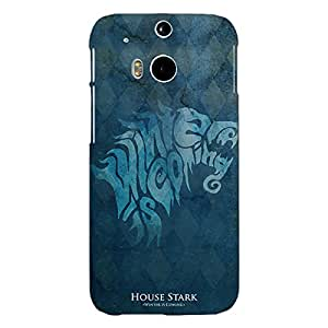 Jugaaduu Game Of Thrones GOT House Stark Back Cover Case For HTC One M8 Eye