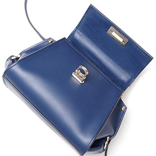 257961d3c347 Salvatore Ferragamo handbags (2-WAY version) SOFIA LEATHER SAPHIR ...