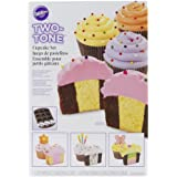 Wilton 2105-7783 Two Tone Cupcake Baking Set
