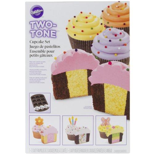 Wilton 2105-7783 Two Tone Cupcake Baking Set (Two Tone Cupcake Pan compare prices)
