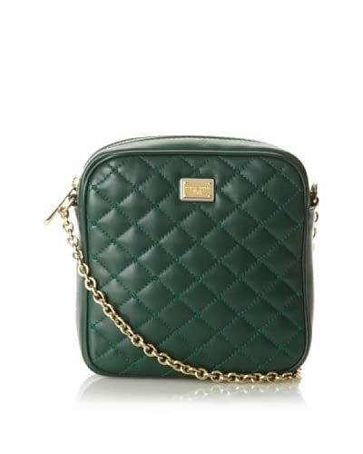 Dolce&Gabbana Women's Quilted Square Cross-Body, Green As You See