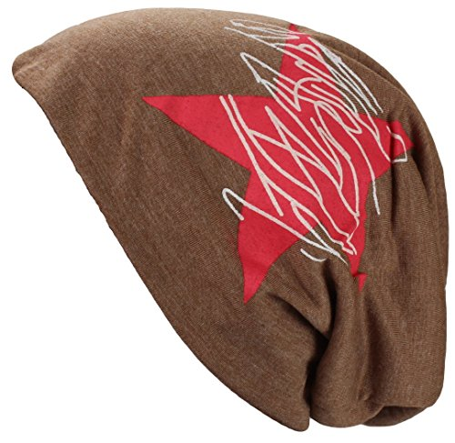 Alex Flittner Designs -  Cappellino da baseball  - Uomo Stern Heatherbrown Taglia unica