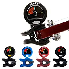 Snark Clip-on Chromatic Tuner: Acoustic/Electric Guitar, Bass, Ukulele, Banjo