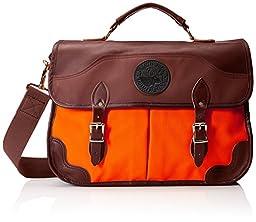Duluth Pack Executive Portfolio Briefcase, Orange, 11 x 17 x 5-Inch