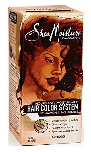 Shea Moisture Hair Color System - Dark Auburn (Shea Moisture Dye compare prices)