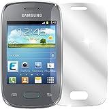 dipos Samsung Galaxy Pocket Neo Schutzfolie (2 Stück) - kristallklare Premium Folie Crystalclear