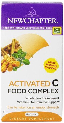 New Chapter  C Food Complex 天然维生素C保健品(180粒) $28.24(约¥230)