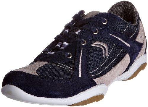 Geox Women's D Arrow B Navy/Lt Grey Lace Up Trainer D1120B1122C0832 7 UK