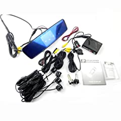 3.5inch TFT LCD Car Mirror Parking Sensors-dual CPU by sourcingbay