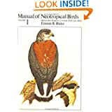 Manual of Neotropical Birds, Volume 1