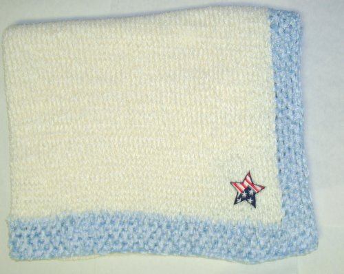 Hand Knitted Baby Blanket back-333856