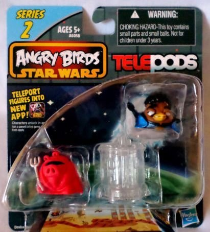 Angry Birds Star Wars Telepods Series 2 Royal Pig & Lando Calrissian Bird - 1