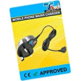 TK9K[TM] - MOBILE PHONE MAINS HOUSE BATTERY CHARGER FOR SAMSUNG ONLY FOR GT-E1150i UK Spec 3 Pin Charger for NI-MH, LI-ION & LI-POL Batteries. - Rapid charge. - 12 Months Warranty - CE approved - Lightweight - Multi input voltage capability (240v, 50/60H
