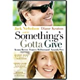 Something's Gotta Give (Widescreen) (Bilingual) [Import]by Jack Nicholson